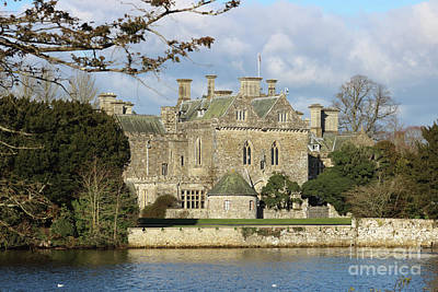 Photograph - Beaulieu House New Forest Hampshire England Uk by Julia Gavin
