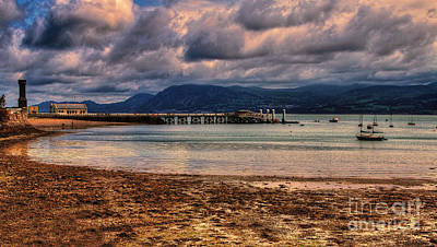 Anglesey Digital Art - Beaumaris Jetty by Chris Evans