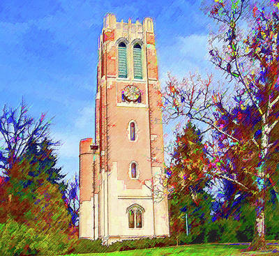 Beaumont Tower Art Print