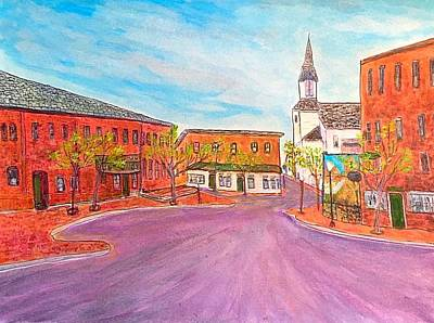 Painting - Beautiful Amesbury by Anne Sands