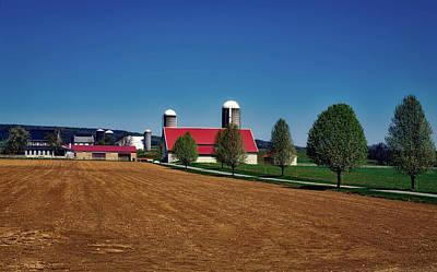 Amish Farms Photograph - Beautiful Amish Farm by Mountain Dreams