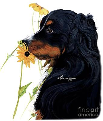 Painting - Beautiful And Meaningful - Bernese Mountain Dog by Liane Weyers
