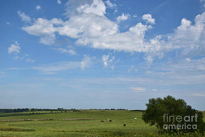 Photograph - Beautiful And Peaceful Iowa by Kathy M Krause