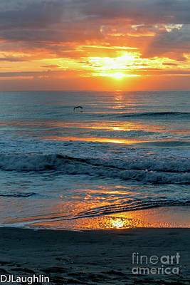 Photograph - Beautiful And So Peaceful Sunrise by DJ Laughlin
