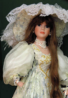 Photograph - Beautiful Antique Doll by Rosalie Scanlon