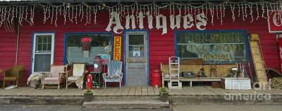 Beautiful Antique Shop Entrance Original by Crystal Loppie