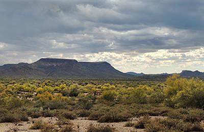 Apache Creek Photograph - Beautiful Arizona Vista by Gordon Beck
