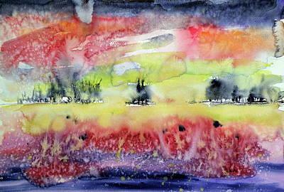 Autumn Landscape Painting - Beautiful Autumn by Kovacs Anna Brigitta