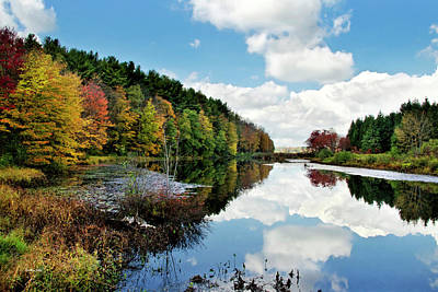 Photograph - Beautiful Autumn Reflection by Christina Rollo