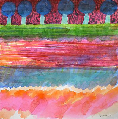 Beautiful Avenue  Art Print by Heidi Capitaine