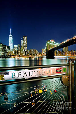 Nyc Photograph - Beautiful by Az Jackson