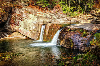 Photograph - Beautiful Baby Falls by Debra and Dave Vanderlaan