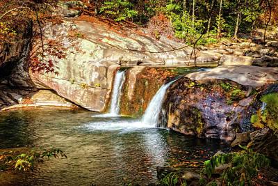 Photograph - Beautiful Baby Falls by Debra and Dave Vanderlaan