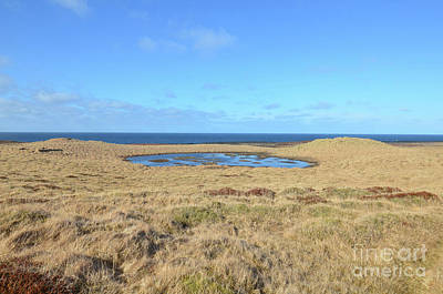 Photograph - Beautiful Bardalaug Pool On Snaefellsnes Peninsula In Iceland by DejaVu Designs