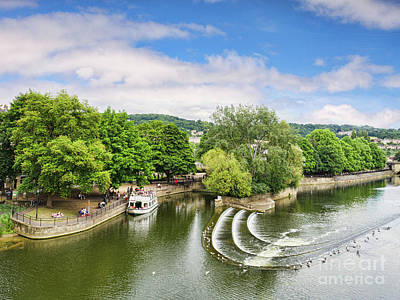 Photograph - Beautiful Bath And The River Avon by Colin and Linda McKie