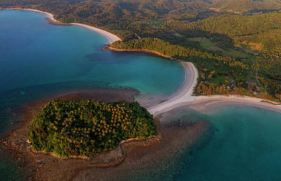 Photograph - Beautiful Beaches Of Sabah, Malaysia by Pradeep Raja PRINTS