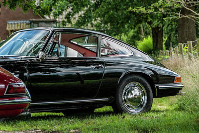912 Photograph - Beautiful Black Porsche 912 by 2bhappy4ever