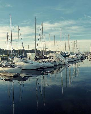 Photograph - Beautiful Blue Marina by Patricia Strand