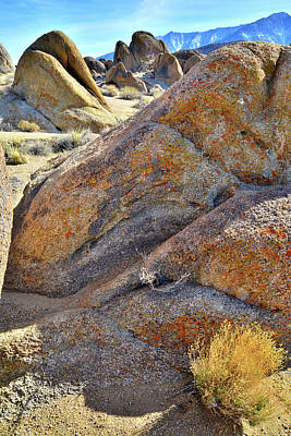 Photograph - Beautiful Boulders In The Alabama Hills by Ray Mathis