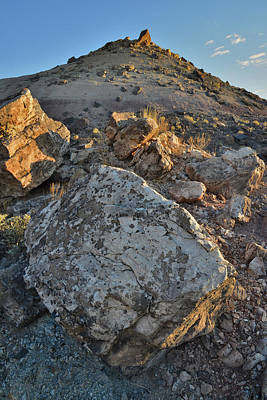 Photograph - Beautiful Boulders On Bentonite Hills Of Grand Junction by Ray Mathis