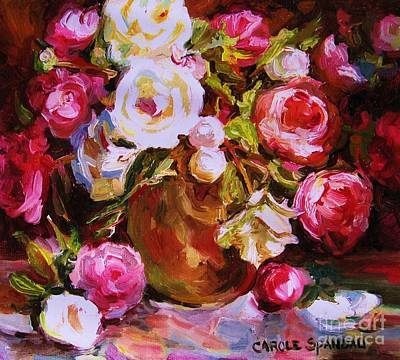 Painting - Beautiful Bouquet by Carole Spandau