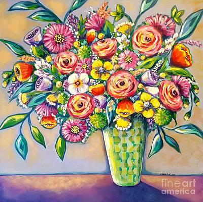 Painting - Beautiful Bouquet by Sandra Lett