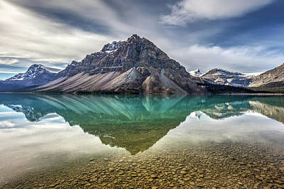 Photograph - Beautiful Bow Lake by Pierre Leclerc Photography
