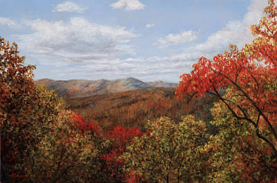 Painting - Beautiful Brevard by Michel McNinch