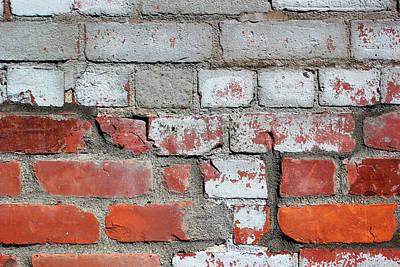 Photograph - Beautiful Brick 6 by Mary Bedy