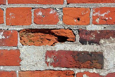 Photograph - Beautiful Brick by Mary Bedy