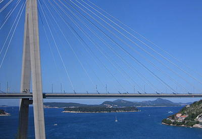 Photograph - Beautiful Bridge In Dubrovnick by Karen J Shine