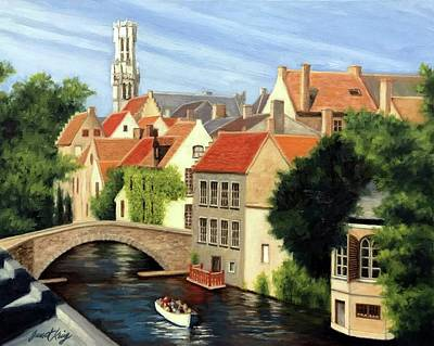 Painting - Beautiful Bruges by Janet King