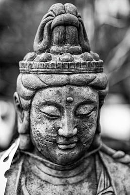 Statue Portrait Photograph - Beautiful Buddha Statue Portrait With Shallow Depth Of Field For by Matthew Gibson