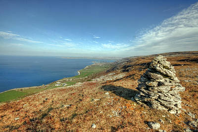 Fanore Photograph - Beautiful Burren View by John Quinn