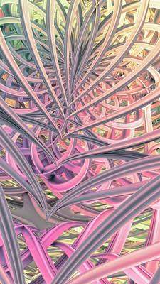 Digital Art - Beautiful Cage by Matt Lindley