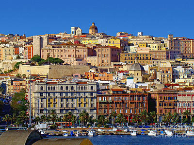 Photograph - Beautiful Cagliari by Sue Melvin