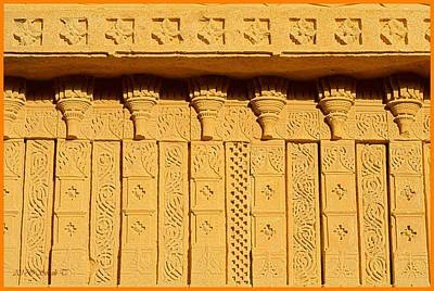 Photograph - Beautiful Carvings On Sandstone by Sonali Gangane