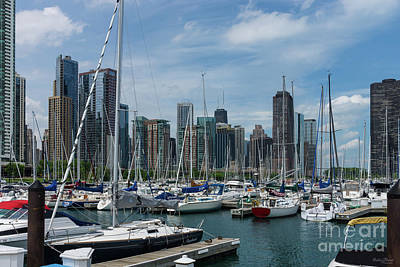 Photograph - Beautiful Chicago Harbor by Jennifer White