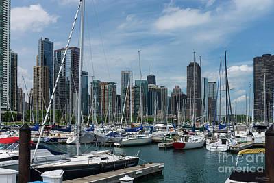 Photograph - Beautiful Chicago Harbor by Jennifer White