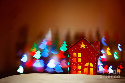Photograph - Beautiful Christmas Decor by Anna Om