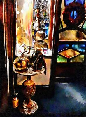 Photograph - Beautiful Christmas Doorway by Dorothy Berry-Lound