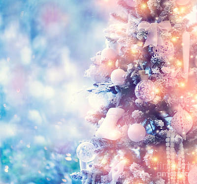 Photograph - Beautiful Christmas Tree by Anna Om