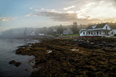Photograph - Beautiful Coastal Maine by John Hoey