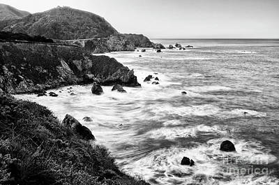 Rocky Creek Photograph - Beautiful Coastal View Of Big Sur In California. by Jamie Pham