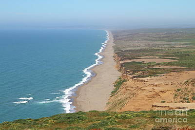 Photograph - Beautiful Coastline Of Point Reyes California 7d15965 by San Francisco