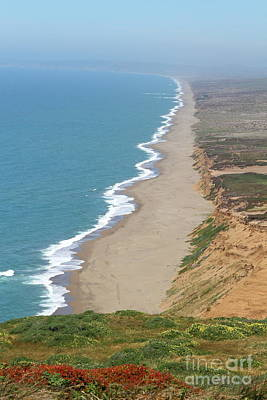 Photograph - Beautiful Coastline Of Point Reyes California 7d15968 by San Francisco