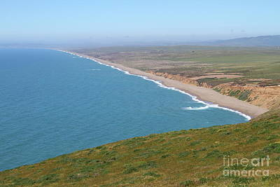 Photograph - Beautiful Coastline Of Point Reyes California 7d16028 by San Francisco