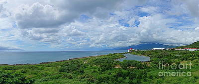 Photograph - Beautiful Coastline Of Southern Taiwan by Yali Shi