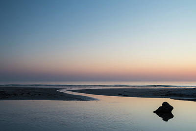 Car Photos Douglas Pittman - Beautiful colorful vibrant sunrise over low tide beach landscape by Matthew Gibson