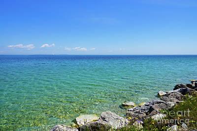 Photograph - Beautiful Colors Of Lake Huron by Jennifer White